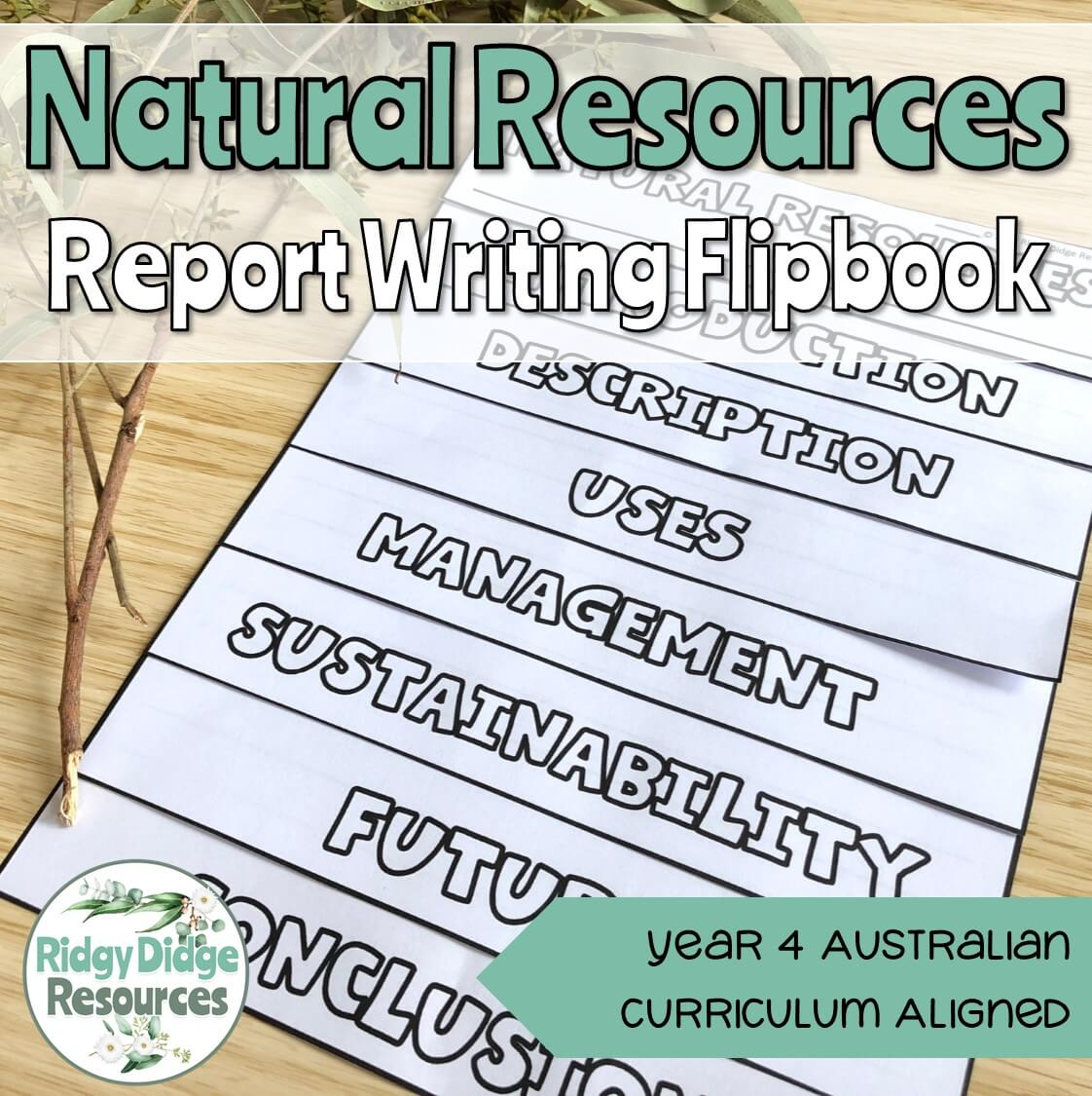 Natural Resource Information Report Writing Flipbook - Ridgy Didge ...